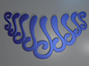 Swooshy Necklace 3d printed Swooshy Necklace (Blue)