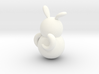 兔子牙刷架 3d printed