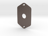 Jaguar Plate - 3 Way Switch 3d printed