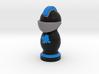 Catan Robber Knight Blk Blu Maple Leaf 3d printed