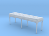 Louis XVI Bench 3d printed
