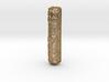 Mezuzah Case, Scrollwork B 3d printed