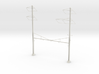 PRR CATENARY HO SCALE 4TRK CURVED STEADY 2-3 PH 3d printed