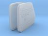 MAN F2000 V10 Exhaust Heat Shield 1/24 3d printed