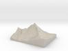 Model of Matterhorn 3d printed