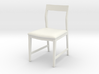 1:24 Danish Modern Chair 3d printed