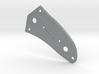 LH Jaguar Lower Control Plate - Tele/Strat Bev 3d printed