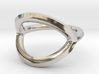 Arched Eye Ring Size 8 3d printed