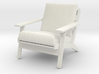 1:24 Wegner Lounge Chair 3d printed