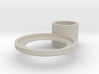 tea candle holder (handle) 3d printed
