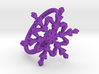 Snowflake Ring 2 d=17mm h21d17 3d printed