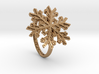 Snowflake Ring 1 d=17mm h21d17 3d printed