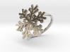 Snowflake Ring 1 d=18mm h21d18 3d printed