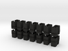 7-8n2 Tapered Stake Pockets 28pc 3d printed