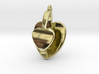 San Valentino Heart Earring 3d printed