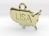 USA Pendant 3d printed