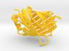 Citrine Fluorescent Protein 3d printed
