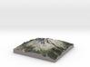 Mt Hood Map 3d printed