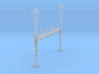 CATENARY PRR BEAM SIG 4 TRACK 2PHASE N SCALE  3d printed