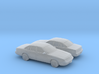 1/160 2X  1992-93 Ford Crown Victoria 3d printed