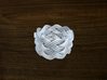 Turk's Head Knot Ring 5 Part X 9 Bight - Size 8.75 3d printed