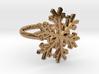 Snowflake Ring 1 d=16.5mm h21d165 3d printed
