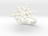 Snowflake Ring 2 d=17.5mm h35d175 3d printed