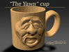 "The ""Yawn Cup"" 3d printed"