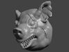 28mm Monster / Mutant / Beastmen / Demon Pig Heads 3d printed