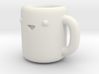 Happy Coffee Cup [ Pendant ] 3d printed