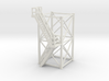 'HO Scale' - 10'x10'x20' Tower With Outside Stairs 3d printed