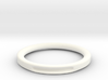 Simple hole ring 3d printed