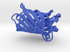 Cerulean Fluorescent Protein 3d printed