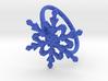 Snowflake Ring 2 d=19.5mm h21d195 3d printed
