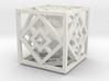 Bipyramidal Cube 3d printed