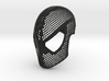 Symbiote Face Shell  - Black Suit Mask Raimi 3d printed