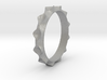 Curve  Pattern Ring- Size 6 3d printed