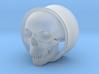Skull 1 Inch Plug 3d printed
