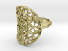 Flower of Life ring 3d printed