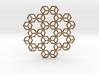 Hexagrammaton Pendant 3d printed