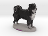 Custom Dog Figurine - KODIAK 3d printed