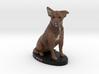 Custom Dog Figurine - Tex 3d printed