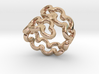 Jagged Ring 19 - Italian Size 19 3d printed
