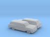 1/160 2X 1958 Chevrolet Nomad 3d printed