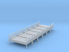 Bed 01. HO Scale (1:87) 3d printed