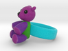 Teddy Ring 3d printed
