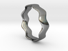 WIDE WAVE Ring 3d printed