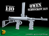 Owen submachine gun (1:10) 3d printed