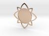 Custom Mandala Pendant 5 3d printed
