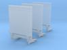 Ladebordwand für Transporter - 3 Stück 1/87 3d printed